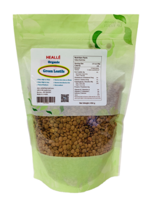 Picture of Healle Organic Green Lentils